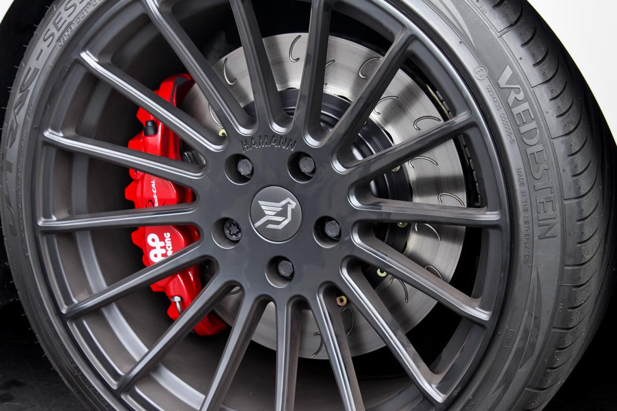 AP Racing by STILLEN Radi-CAL Brake Kit For BMW Installed