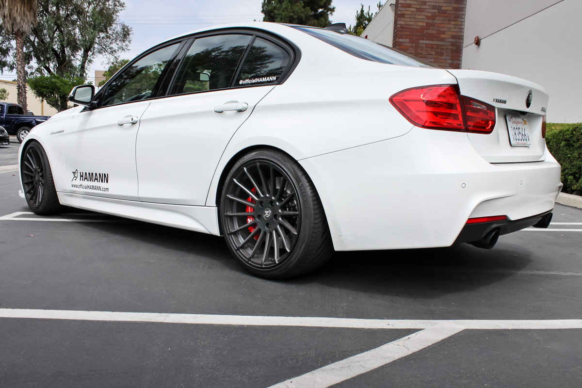 Hamann 335i with AP Racing by STILLEN Radi-CAL Brake Kit For BMW