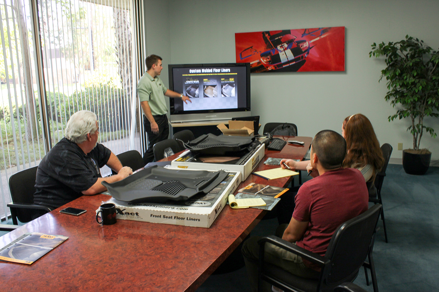 Team STILLEN Learning About the Husky Liners Product Line
