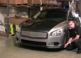 How to Install a STILLEN Nissan Maxima Lip Spoiler