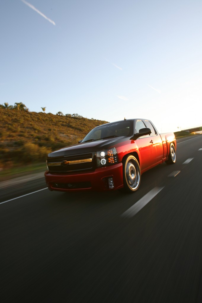 STILLEN Modified Chevy Silverado Driving