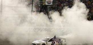 Brad Keselowski runs AP Racing Brakes & Wins Richmond - Photo credit: nascar.com