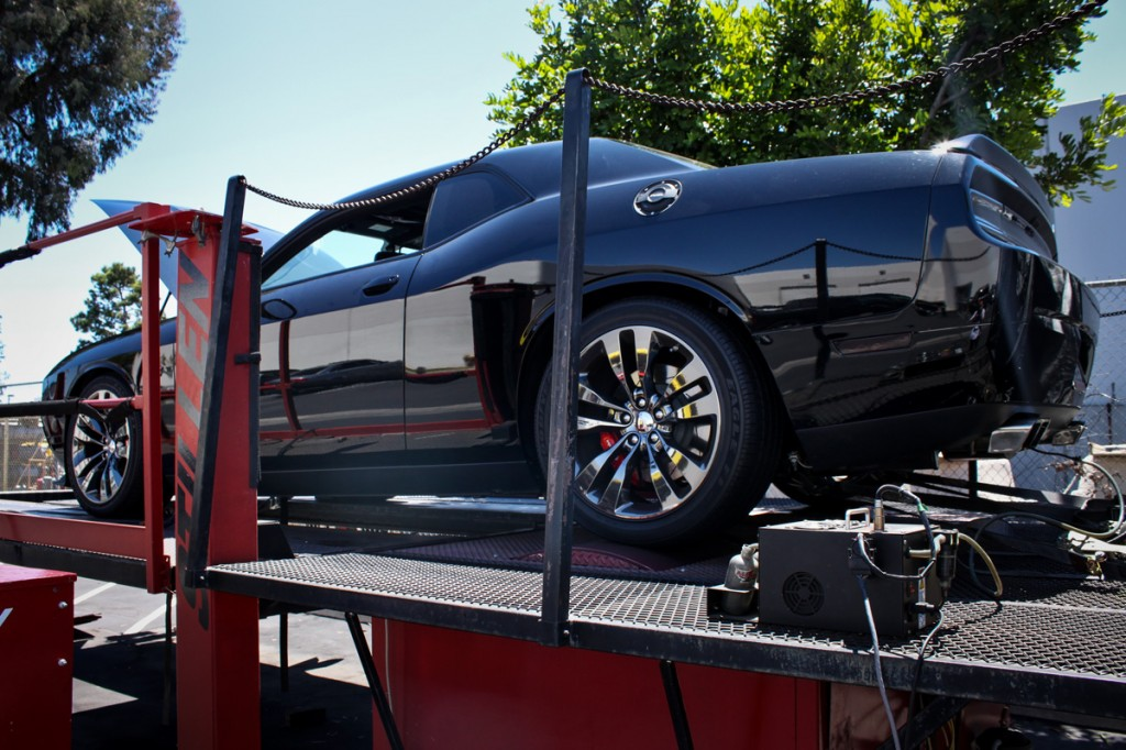 Challenger on the Dyno