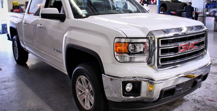 2014 Sierra with ReadyLIFT Leveling Kit