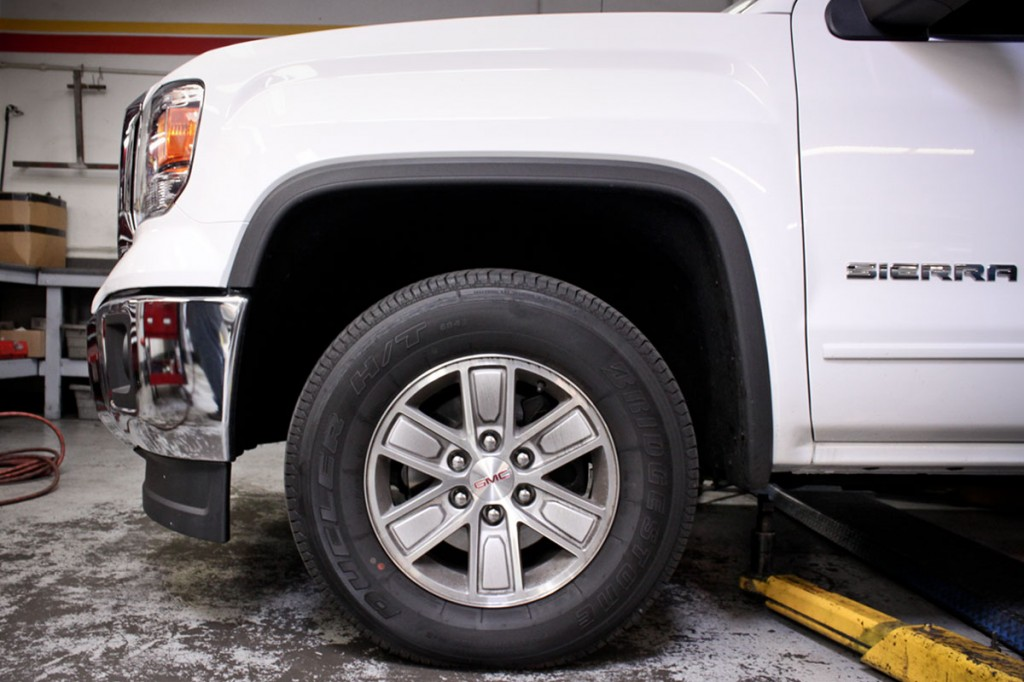 Gmc Sierra Leveling Kit Installed Stillen Garage