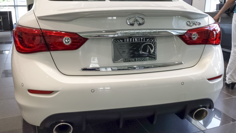 STILLEN Cat-Back Exhaust and Diffuser on Infiniti of Baton Rouge Q50S