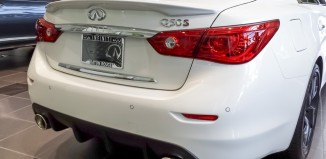 Infiniti of Baton Rouge Q50S Cat-Back Exhaust and Diffuser