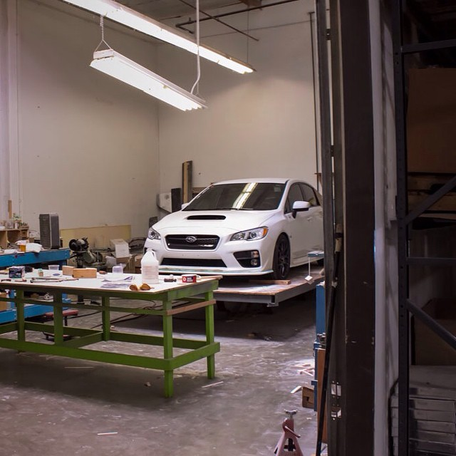 Quick sneak peek of what's been going on at STILLEN with the new WRX! Who's excited to see what STILLEN has in store for the #2015WRX? ~~~~~~~~~~~~~~~~~~~~~~~~~~~~~ Owner: @trackwrex