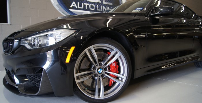 L&L Auto Link's BMW M4 with an AP Racing by STILLEN Big Brake Kit