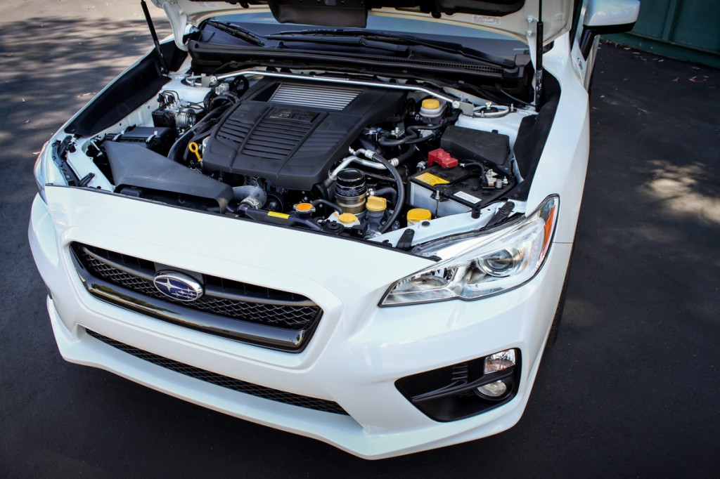 Subaru WRX engine