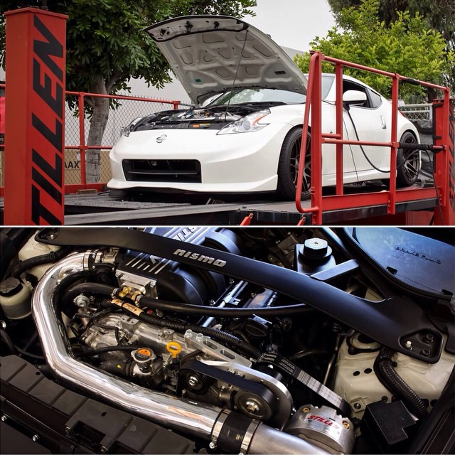 Nismo 370Z with freshly installed STILLEN Supercharger!