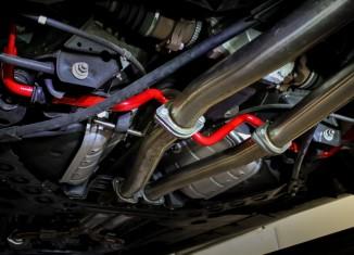 370Z with STILLEN 304375 Sway Bars