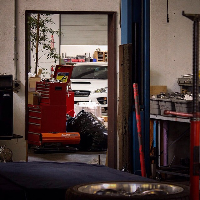 Good morning Instagram! What's this we spy in the STILLEN Warehouse! Stay tuned to see what's coming out for the 2015 WRX! Check our blog article on the WRX (link in Bio).