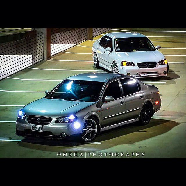Throwback Thursday with a couple 5th Gen Maxima's. @omi2390 and @footzyoungcity keeping it clean with STILLEN Kits.