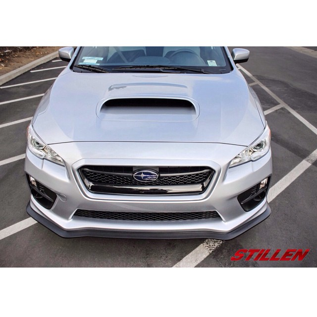 Check out the new STILLEN Front Splitter for the 2015 WRX & STI! See more pictures on our blog (link in bio). Special thanks to @trackwrex for loaning us his car for development!