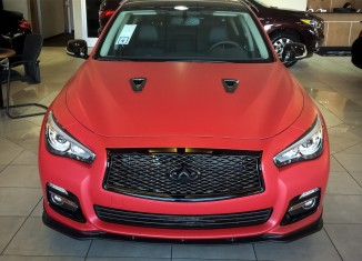 Glendale Infiniti's Custom Q50 with STILLEN Splitter, Diffuser & Cat-Back Exhaust