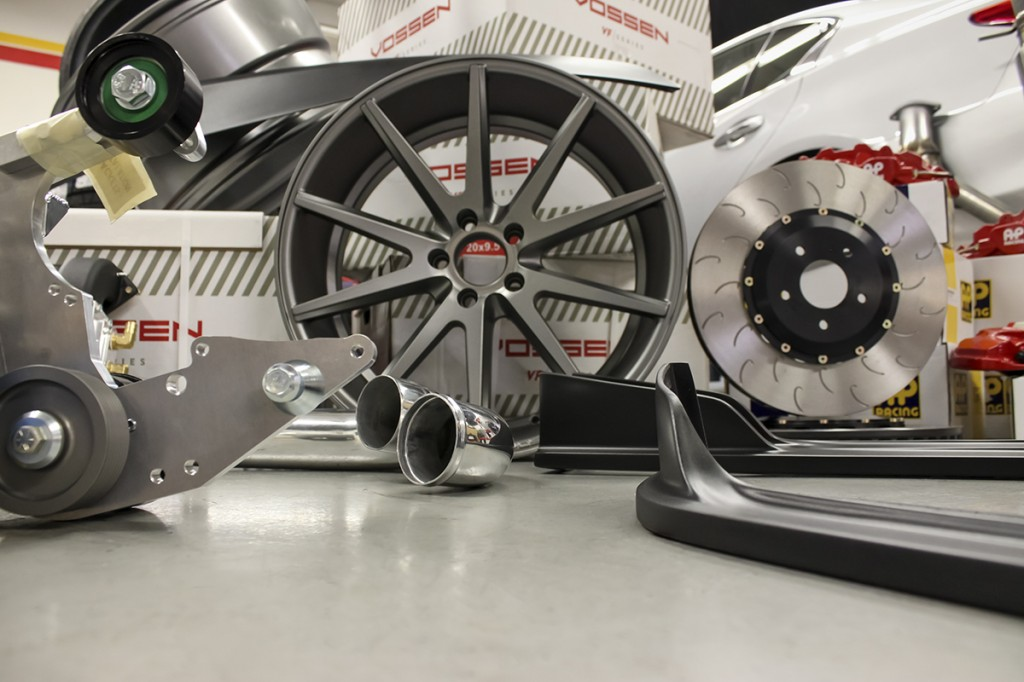 Featured STILLEN Q50 Parts - Airrex, Vossen, Nitto & STILLEN