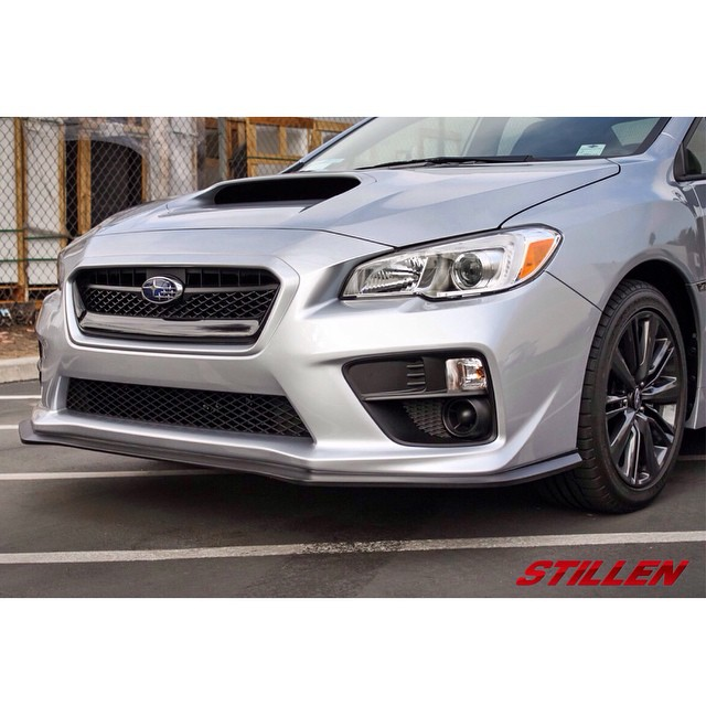We are pleased to announce and release STILLEN's first part for the 2015+ WRX! Front Splitters are now available. Made here in Costa Mesa, CA.