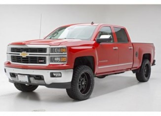 Chevy Silverado Lifted with Icon Lift Kit