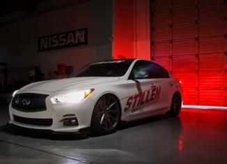 2014 SEMA Q50 in STILLEN Garage