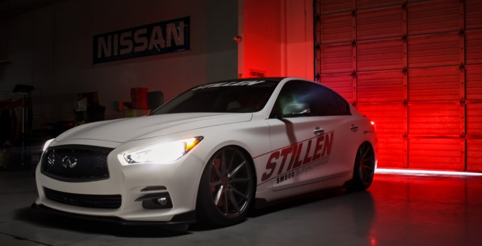 2014 SEMA Q50 in STILLEN Garage