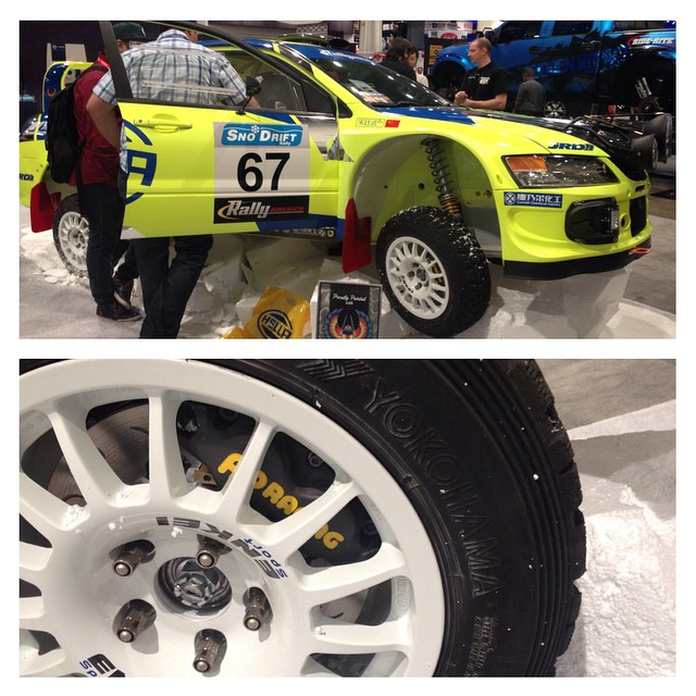 When walking around #sema2014 a common sight is seeing a all of the race cars running #apracing #brakes #stillen is very proud to be the North American distributor for the road certified apracing #bigbrakes stop by our booth 34273 at #sema or give us a call to find out about the street brakes made by the same company that all the racers trust!