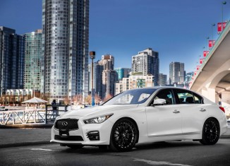 Infiniti of Vancouver's 2015 Q50S STILLEN Edition with STILLEN Gen 2 Intake, STILLEN Cat-Back Exhaust & RSR Down Sus Lowering Springs