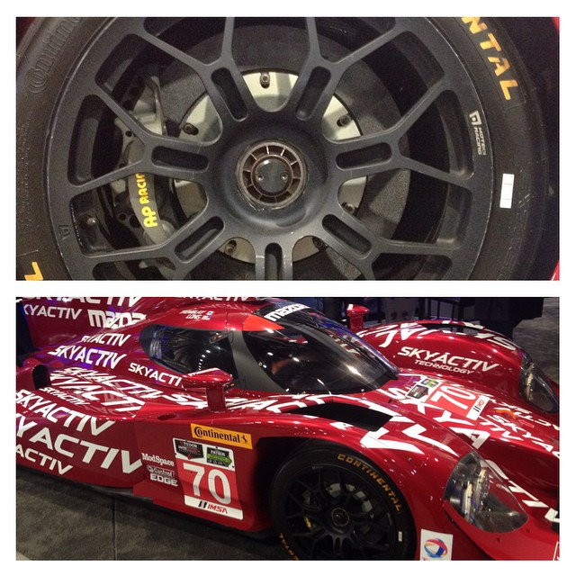 #apracing brakes are used in all of the top forms of #motorsport including this #Mazda prototype #imsa #racecar #stillen is very proud to be the exclusive North American distributor for the road brakes #becauseracecar #bigbrakes