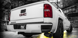 GMC Sierra with Magnaflow Black Exhaust