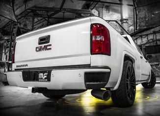 GMC Sierra with Magnaflow Black Exhaust