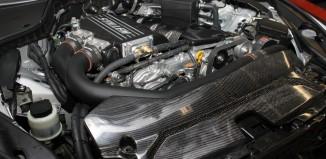 STILLEN Infiniti Q50 Supercharger with Carbon Fiber Engine Cover & Carbon Fiber Radiator Cover
