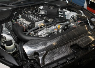 STILLEN Infiniti Q50 Supercharger with Carbon Fiber Engine Cover & Carbon Fiber Radiator Cover