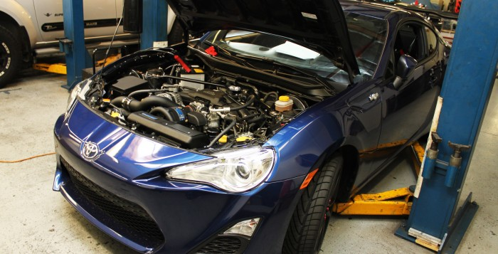 Installed Vortech FR-S Supercharger at the STILLEN Performance Shop