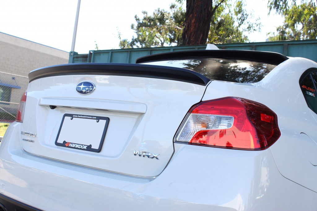 STILLEN 2015 Subaru WRX Roof Wing U0026 Deck Wing