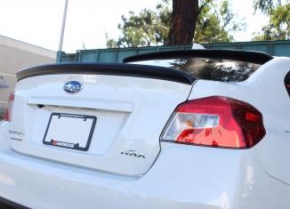 STILLEN 2015 Subaru WRX Roof Wing & Deck Wing