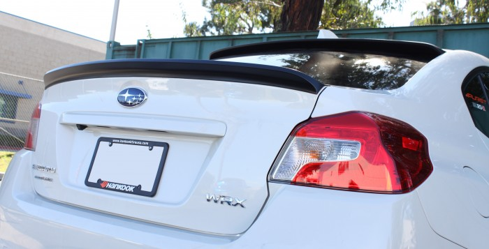 STILLEN 2015 Subaru WRX Roof Wing & Deck Wing