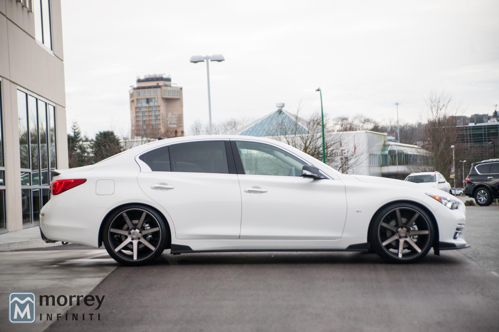 Mercedes Benz Dealership >> Custom STILLEN Edition Q50 Available at Morrey Infiniti of ...