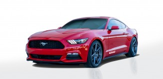 2015 Ford Mustang with Eibach ProKit Installed