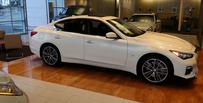 Beshoff Infiniti Q50S with STILLEN Front Lip, Exhaust, Diffuser, Intake, Trunk Wing & More