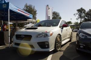 Subaru WRX at the Imports at UCI Car Show