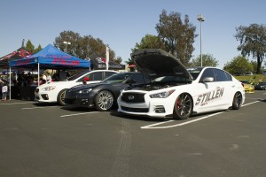 STILLEN Booth at the 2015 Imports at UCI Car Show