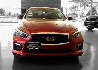 "Beshoff Infiniti's ""Red Demon"" Q50S"