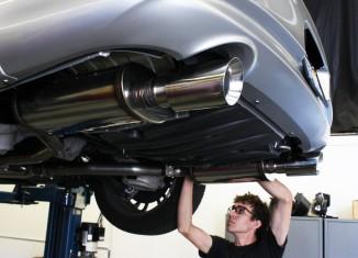 G37 Exhaust Install at the STILLEN Performance Shop