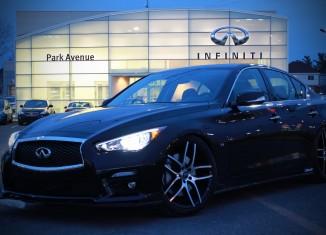 Park Avenue Infiniti Q50