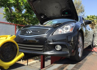 G37 Sedan on STILLEN Dyno After Exhaust and Intake Installation and Tune