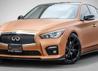 Q50S with STILLEN Body Components, RS-R Lowering Springs, Niche Wheels & More Available at 401 Dixie Infiniti