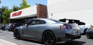 Nissan GT-R being delivered to get the Nismo by STILLEN N-Attack package