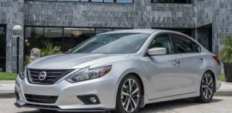 2016 Nissan Altima with Stillen front splitter