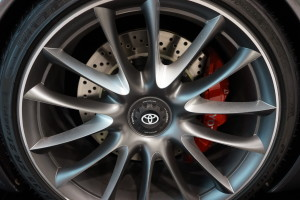 Toyota FT1 Wheel