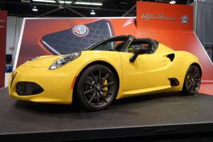 Alpha Romeo 4C Spider
